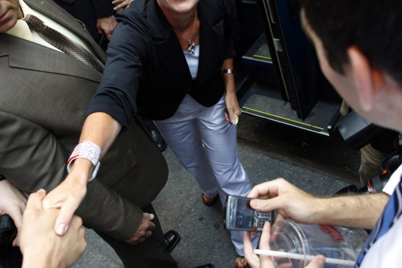 Sarah Palin in New York City