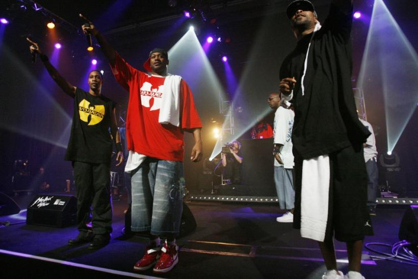 RZA, Cappadonna and Method Man of rap band Wu-Tang Clan perform at the Montreux Jazz Festival
