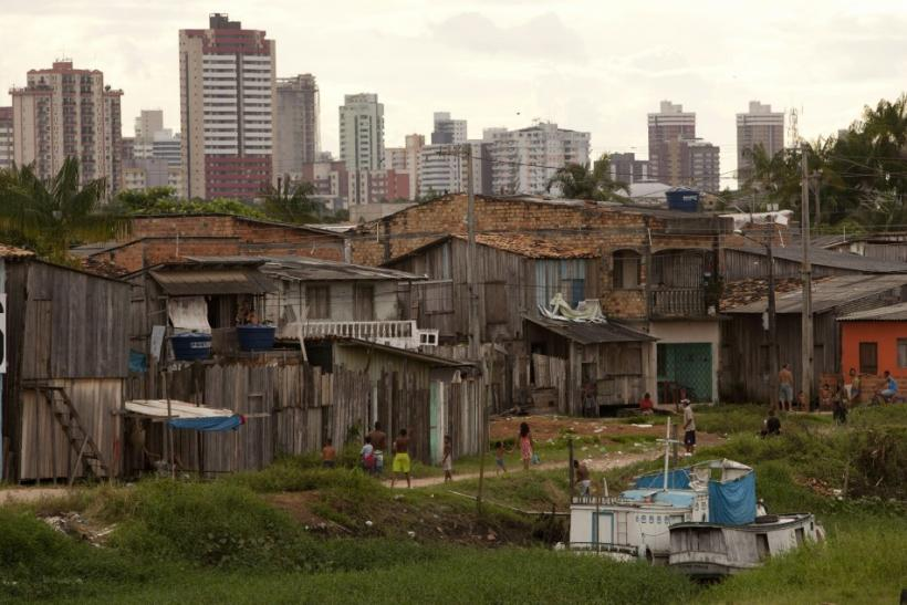 A scene inside the Terra Firme slum, one of the poorest and most violent areas in the state of Para, in Belem city at the mouth of the Amazon River