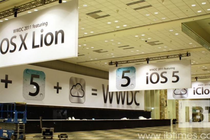 Apple WWDC 2011 at Moscone Center, San Francisco