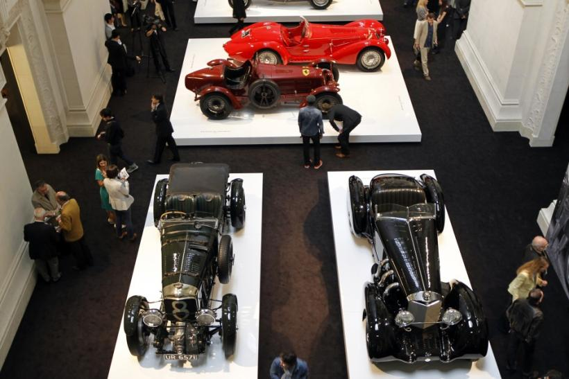 'The Art of the Automobile, Masterpieces from the Ralph Lauren Collection'