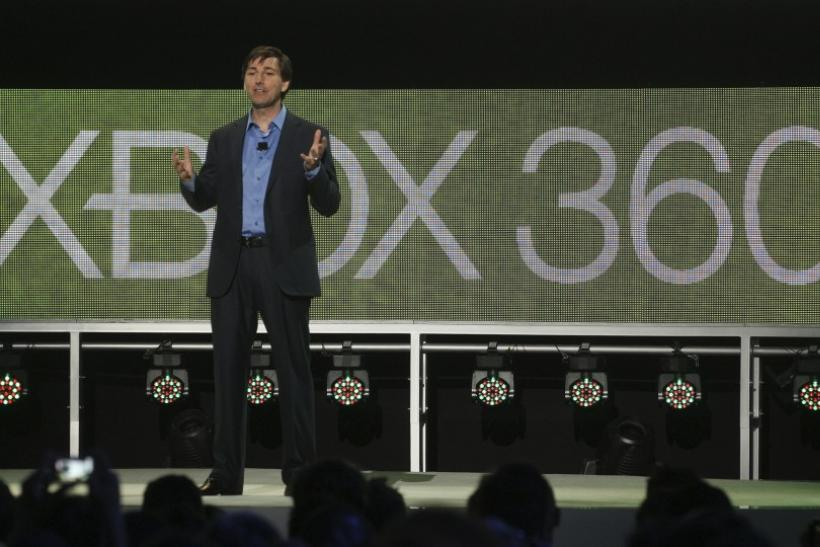 Don A. Mattrick, President of the Interactive Entertainment Business at Microsoft, speaks at the Microsoft E3 XBOX 360 media briefing in Los Angeles