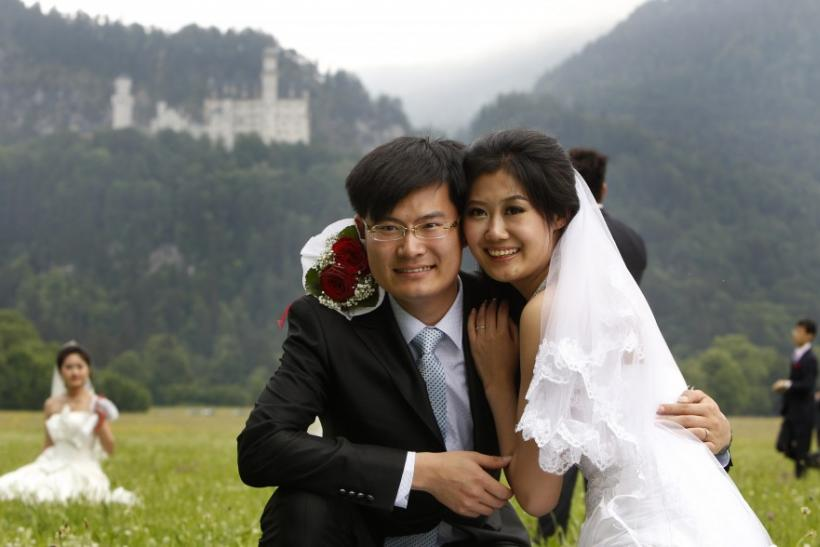 Chinese Couple in Germany