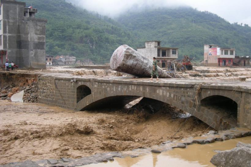 Flood in China- Guizhou