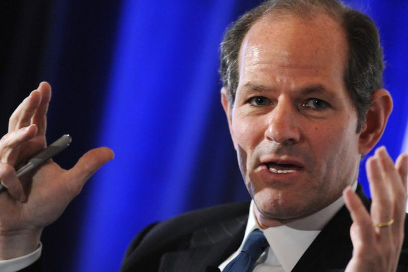 Former New York Governor Eliot Spitzer