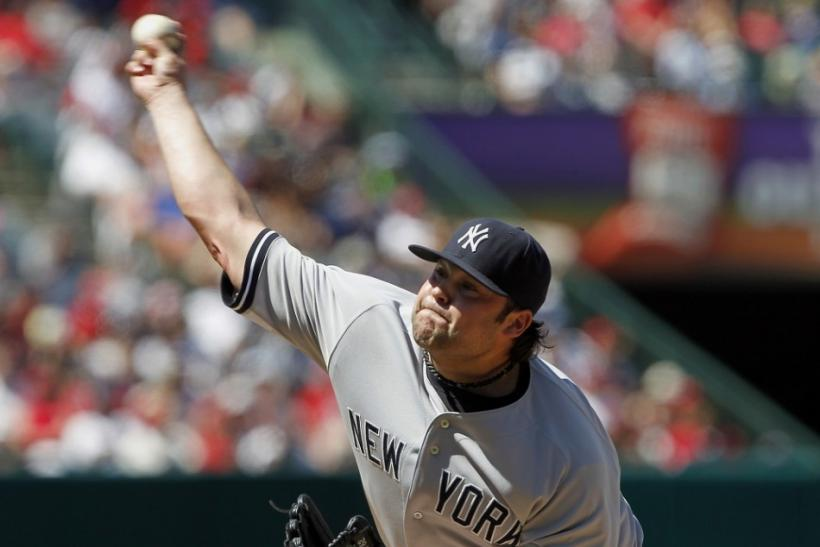 joba chamberlain new york yankees pitcher dl elbow