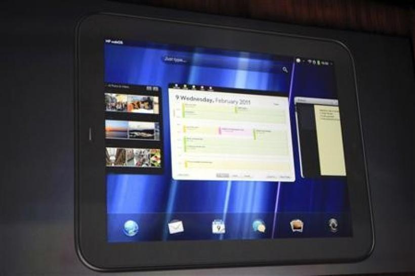 The HP TouchPad