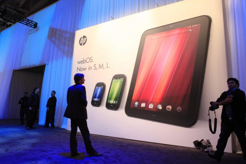 HP TouchPad Available July 1, 2011a
