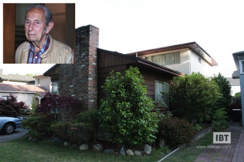 Family Radio President Harold Camping's house at Gibbons Drive in Alameda, California and (inset) Harold Camping