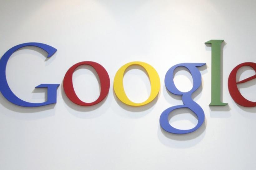 Google Inc's logo is seen at an office in Seoul