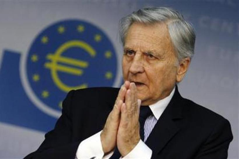 Trichet President of ECB answers reporter's questions