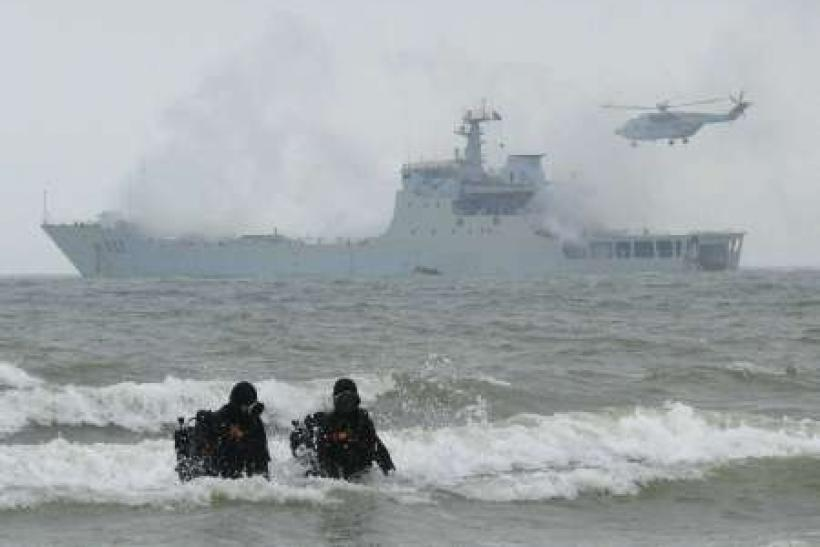 China warns outside nations to stay out of sea dispute