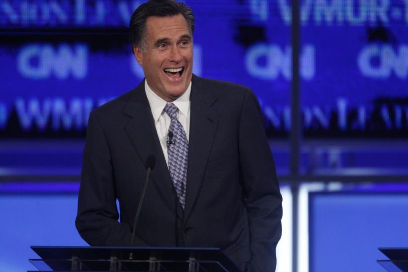 Former Massachusetts Governor Romney