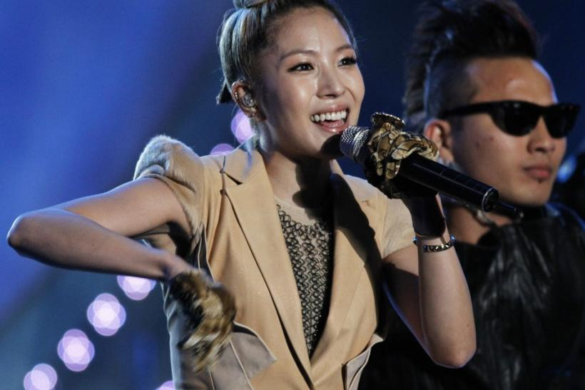 South Korean singer BoA performs during the 2010 Asia Song Festival celebrating the upcoming G20 Seoul Summit at the Jamsil Main Stadium in Seoul