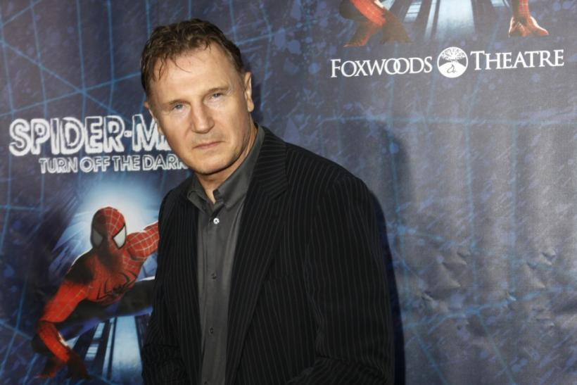"Actor Liam Neeson arrives at the Broadway opening of ""Spider-Man: Turn Off The Dark"" in New York June 14, 2011."