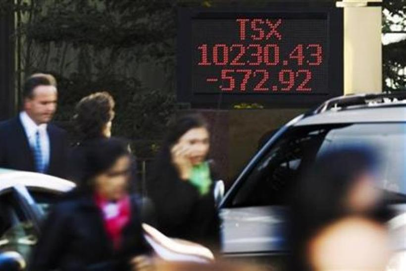 TSX ends slightly lower on weaker energy issues