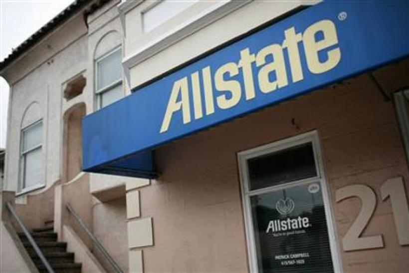 Allstate insurance posts fourth quarter results as office shown in San Francisco