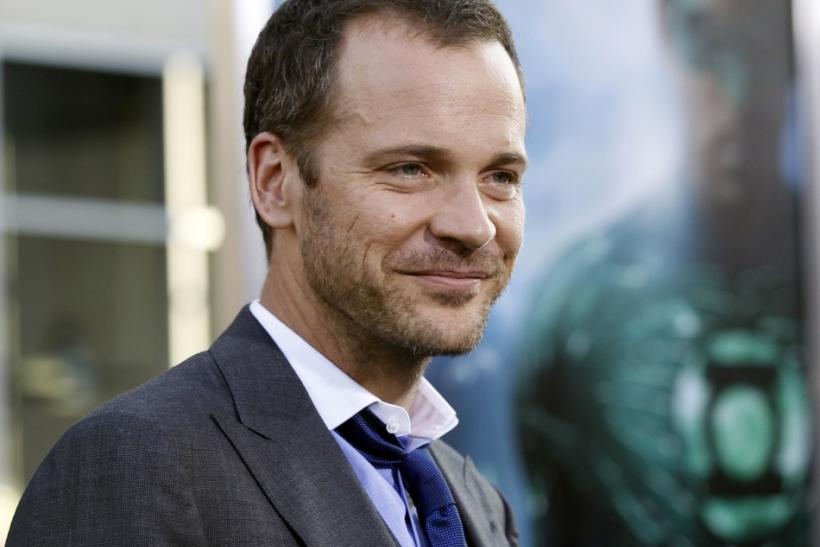 "Cast member Peter Sarsgaard poses at the premiere of ""Green Lantern"" at the Grauman's Chinese theatre in Hollywood, California June 15, 2011. The movie opens in the U.S. on June 17."