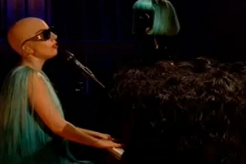 Lady Gaga goes bald