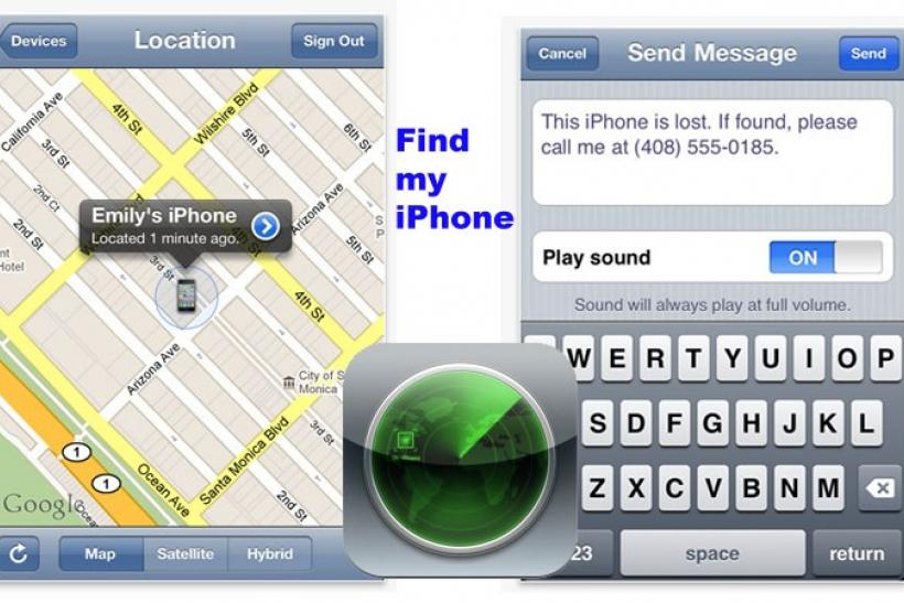 Apple 'Find My iPhone' service