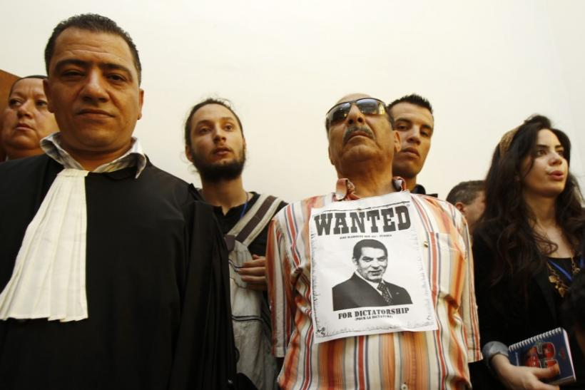 Ben Ali court absentia- Wanted II