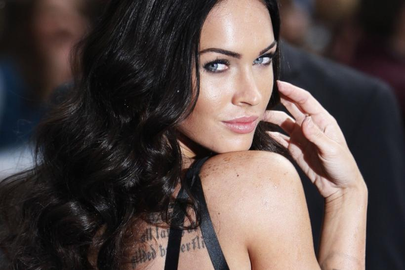 "U.S. actress Megan Fox arrives for the British premiere of ""Transformers: Revenge of the Fallen"" in London"
