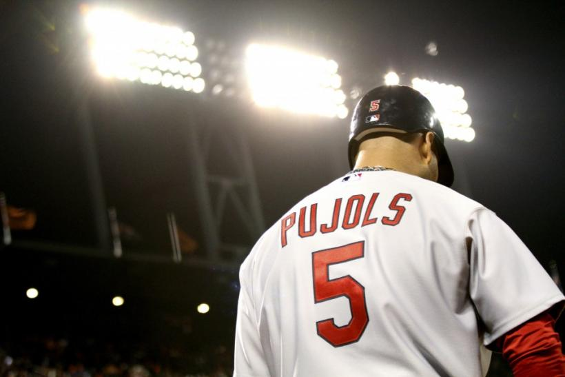 St. Louis Cardinals batter Albert Pujols