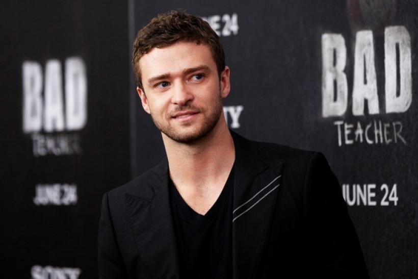 "Actor Justin Timberlake walks the red carpet as he arrives for the premiere of ""Bad Teacher"" in New York"
