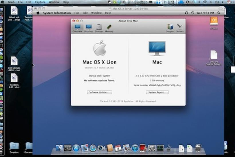 Apple's OS X Lion