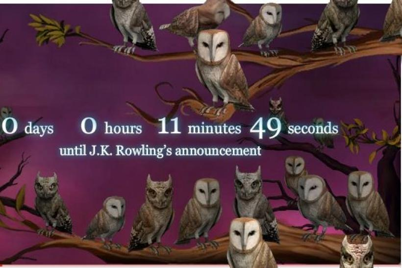 Pottermore Youtube