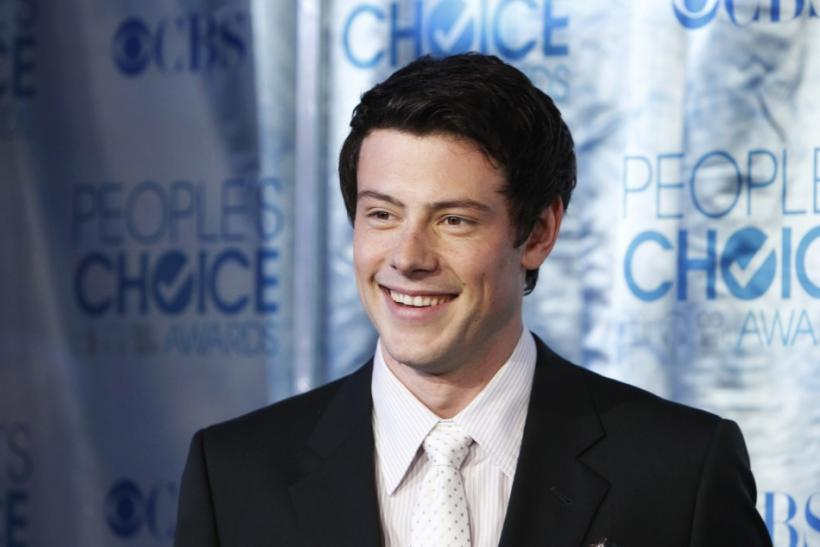 "Actor Cory Monteith from ""Glee"" arrives at the 2011 People's Choice Awards in Los Angeles January 5, 2011"