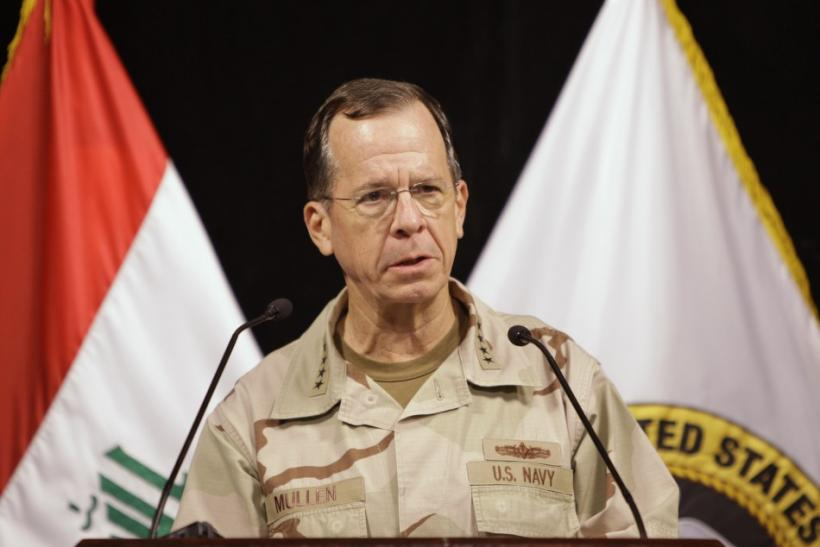 Chairman of the Joint Chiefs of Staff Admiral Mike Mullen