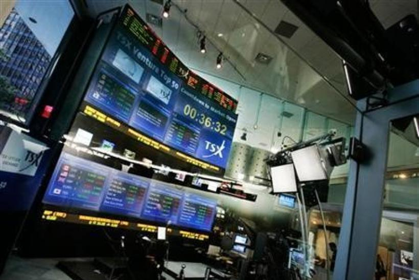 TSX hits 10-week high on Europe hope, U.S. banks