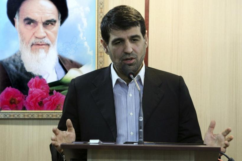 File photo of Deputy Foreign Minister in charge of Administrative and financial affairs, Mohammad Sharif Malekzadeh, a ceremony in Tehran