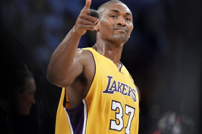 a93a2bf7613e Metta World Peace  5 Name Changes He Should Consider After James Harden  Elbow Incident  VIDEO