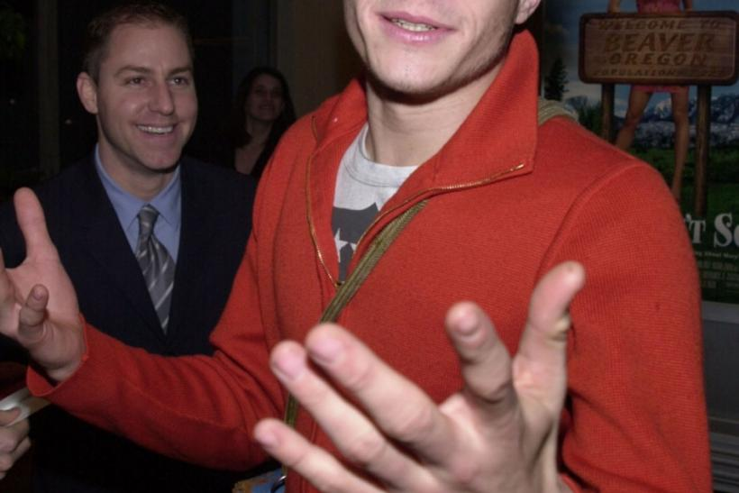 """ACTOR LEDGER ARRIVES AT THE PREMIERE OF """"SAY IT ISN'T SO"""" IN LOS ANGELES."""
