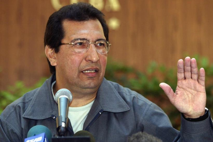Adan Chavez, brother of President Hugo Chavez