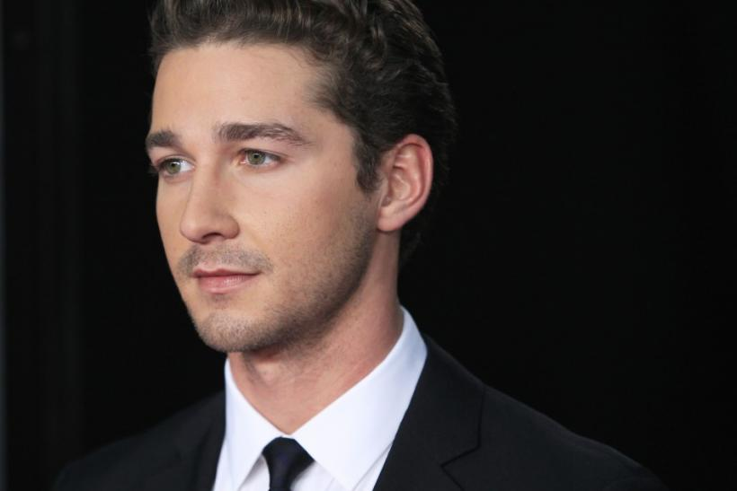 "Actor and cast member Shia LaBeouf arrives for the premiere of the film ""Wall Street: Money Never Sleeps"" in New York September 20, 2010."