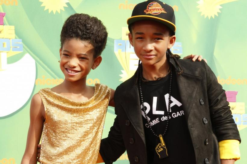 2. Willow Smith & Jaden Smith