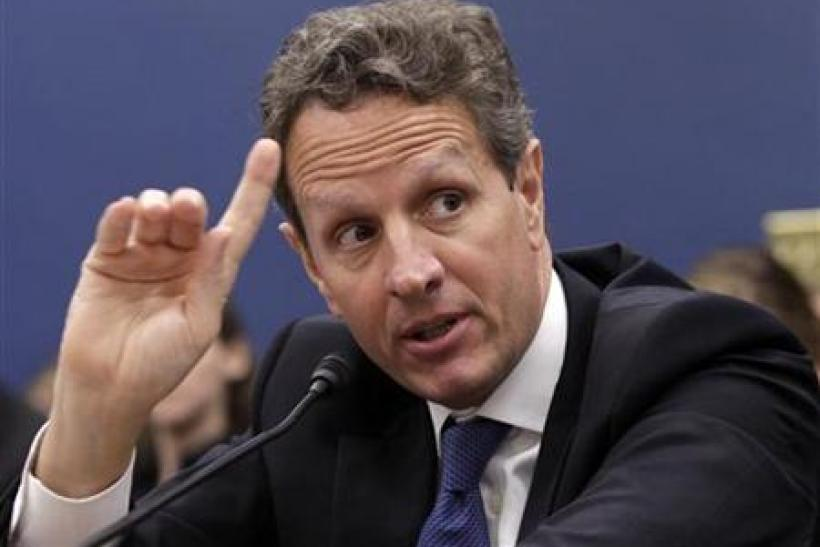 Treasury Secretary Geithner testifies before the House Committee on Small Business