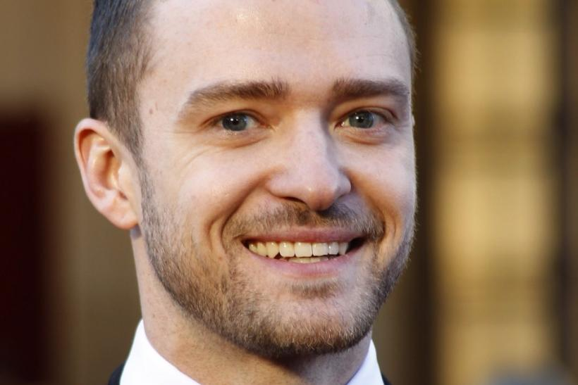 Timberlake arrives at the 83rd Academy Awards in Hollywood