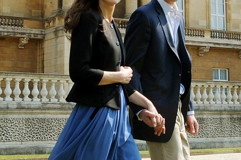 Kate Middleton wearing the $84 Zara dress the morning after her wedding
