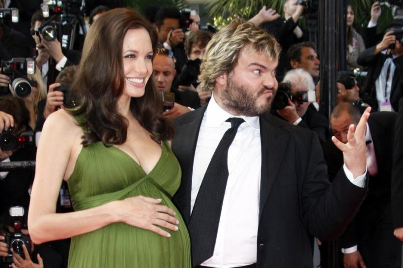 Angelina Jolie and Jack Black
