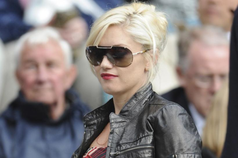 Singer Gwen Stefani attends the finals match between Nadal of Spain and Federer of Switzerland at the Wimbledon tennis championships in London