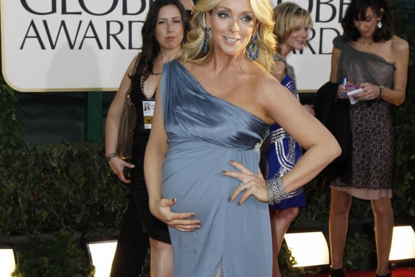 Actress Jane Krakowski arrives at the 68th annual Golden Globe Awards in Beverly Hills