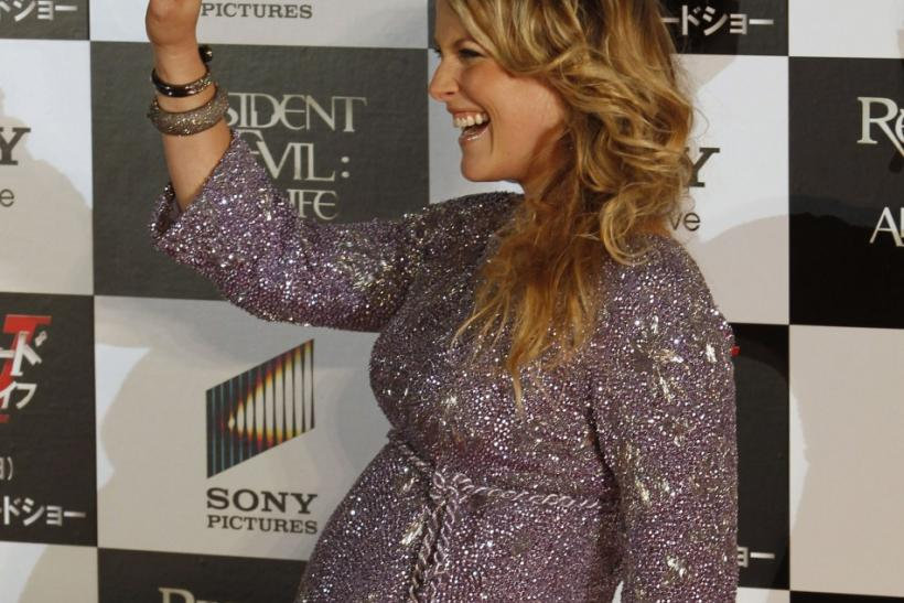 "Actress Ali Larter poses at the ""Resident Evil: Afterlife 3D"" Tokyo premiere"