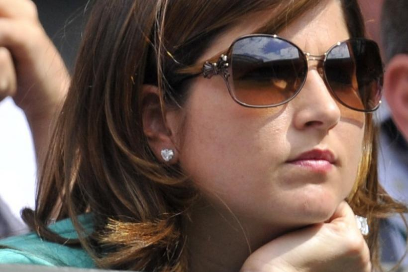 Mirka Federer, the wife of Roger Federer of Switzerland