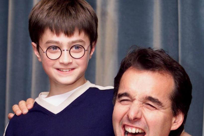 Daniel Radcliffe and film director Chris Columbus