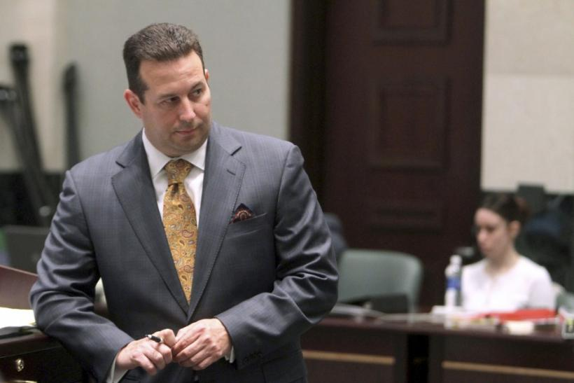 Lead defense attorney Jose Baez