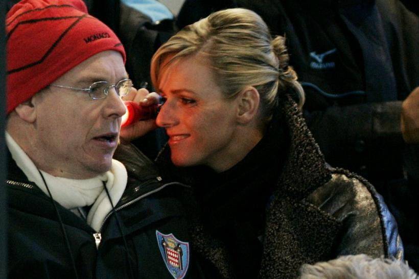 Monaco's Prince Albert II and Princess Charlene